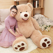 63in.Teddy Bear Gaint with Big Plush Pillow Stuffed Animals Valentine's day gift