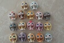 Littlest Pet Shop RARE Floppy Ear Baby Easter Bunny Bunnies HUGE LOT