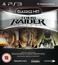 The Tomb Raider Trilogy (PS3) BRAND NEW SEALED ENGLISH VERSION