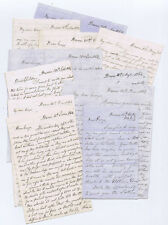 DUNS Berwickshire Collection of 11 Letters written by William Graham 1862-1864
