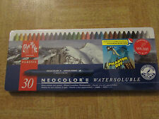 Caran D'Ache NeoColor II Water Soluble Wax Pastel Set 30