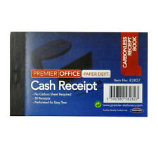 Mini Carbonless Receipt Book - 30 Receipts - Pack of 2 – Size 103mm x 64mm