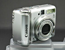CANON PowerShot A570 IS - RECONDITIONED DIGITAL CAMERA-VIEWFINDER-AA BATTERIES
