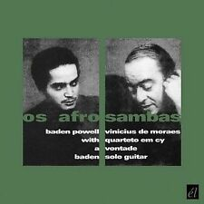 Os Afro Sambas/Vontade by Baden Powell (CD, Mar-2008, El Records (UK))