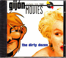 CD FESTIVAL GIJON GOES TO the MOVIES the dirty dozen SPAIN 1995 ost bso covers
