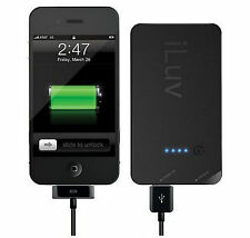 iLuv iBA200 Portable Back-Up Battery Pack For iPhone iPod Or USB Power Devices