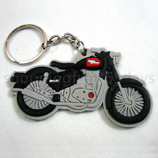 Royal Enfield Bullet Soft Rubber Keychain Keyring single sided best Collectible