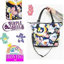 Iron Fist Care Bears Nights For Staring Black Star Tote Bag New Season!