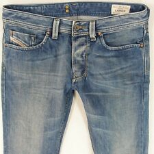 Mens Diesel LARKEE 008AT Straight Regular Fit Blue Jeans W32 L30