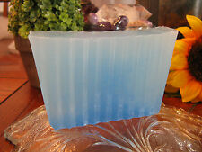 "New Natural Handmade ""Mistic Blue Honey"" Glycerin Sliced Bar Soap"