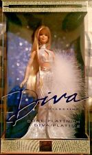Barbie Diva Collection Gone Platinum Collector Edition 2001 52739 NIB