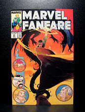 COMICS: Marvel Fanfare #37 (1980s), Thor/Fantastic Four - RARE (figure/x-men)