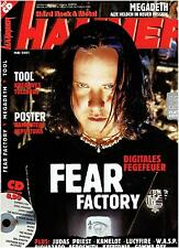 METAL HAMMER Mai 2001 - Fear Factory, Tool, Judas Priest, Megadeth (CD+Poster)