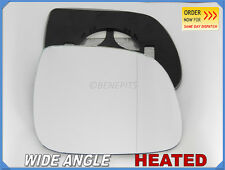 Wing Mirror Glass AUDI Q7 2007-2010 Wide Angle HEATED Right Side #A016