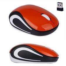 Mini Adjustable 2.4G 2000DPI USB Optical Wireless Mouse Mice For PC Laptop OR