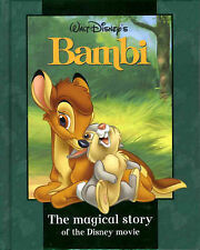 "Disney ""Bambi"" (Disney Book of the Film)  ""AS NEW"" Book"