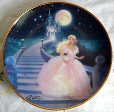 """'The Magic of Cinderella' Plate (8-1/8"""") Glass Slipper, Castle"""
