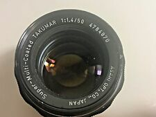 PENTAX SMC TAKUMAR 1:1.5 50MM M42 SCREW MOUNT PRIME LENS