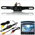 12V 120° CMOS Waterproof Infrared Auto Reversing View Parking Backup Camera Kit