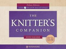 The Knitter's Companion by Vicki Square (2010, Hardcover, Deluxe)