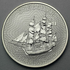 1 oz 999 Silber Silbermünze 1 CID Cook Islands Bounty Schiff Segeschiff 2017