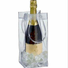 Clear Ice Bag Wine Cooler Champagne Bucket Party Wine Bag Picnics BBQ's Party