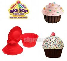 Diy Silicone Big Jumbo Giant Top Cup Cake Mould Molds Pan  Bakeware Baking Set