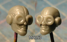 """MH153 Custom Cast Sculpt part Male head cast for use with 3.75"""" action figures"""