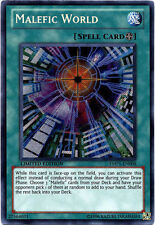 Yugioh Malefic World - YMP1-EN008 - Secret Rare - Limited Edition Near Mint