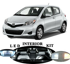 LED for Toyota Yaris Xenon White LED Interior Package Upgrade (6 pieces)