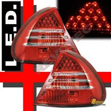 99 00 01 02 Mitsubishi Mirage 2Dr Coupe 4Dr Sedan Red LED Tail Lights Lamps