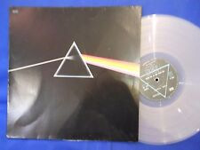 PINK FLOYD DARK SIDE MOON DC 13 ORIG FRANCE RARE CLEAR VINYL NEAR MINT