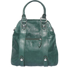 Shoulder Bag Italian Genuine Leather Hand made in Italy Florence 8002 dg