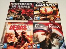 5 PC Games: Rainbow Six Vegas 2, Assassins Creed, Farcry 2, Prince of Persia New