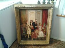 19th century French Oil on Canvas signed F.Boucht.t dealer or reseller