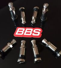 BBS O.Z stainless Tyre Valves 8mm Genuine Brand New 42mm Tall RS RM RC RX RF