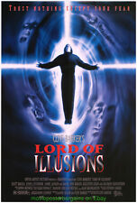 LORD OF ILLUSIONS MOVIE POSTER 27x40 Final Style CLIVE BARKER Horror Film 1995