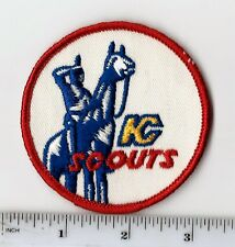 "Vintage Early 1970s NHL Kansas City Scouts 3"" Round Patch (sew on)"