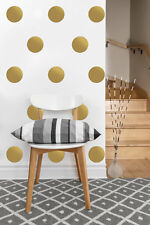 "Circle Decals | Polka Dot Vinyl Wall Sticker | 2""-4"" inches, set of 50 or 80"