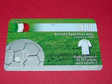 RARE FOOTBALL CARD FOOT2PASS 2010-2011 SS LAZIO CALCIO SERIE A LAZIALE