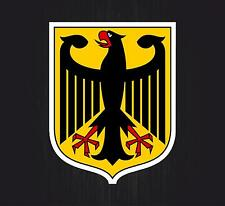 Sticker coat of arms flag car vinyl decal outdoor bumper shield germany german