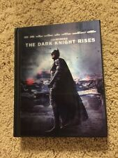 The Dark Knight Rises (Blu-ray 3-Disc Set LENTICULAR Digibook With Comic) RARE
