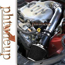 BLACK fit 2003-2006 INFINITI FX35 G35 3.5 3.5L V6 AIR INTAKE KIT SYSTEMS