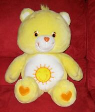 "Really Big Care Bears Plush  26"" Funshine Bear EUC"
