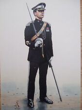 MILITARY POSTCARD- RMS 17TH/21ST LANCERS 1991 BY ALIX BAKER