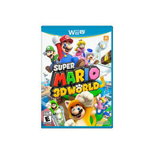 Super Mario 3D World Nintendo Wii U Game Disc Only Tested