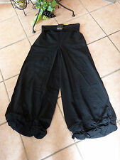 LAGENLOOK: MEGA KNOTEN Hose BORIS INDUSTRIES 44-48 (2) NEU! schwarz weit Stretch