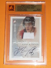 06-07 ITG Ultimate JONATHAN TOEWS Future Star Auto 3CL Patch Silver Pre-RC 26/40
