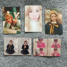 TTS SNSD Dear Santa Official Photocard (5 Pc Set) Taeyeon Tiffany Seohyun