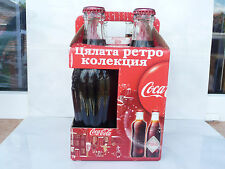 4x Coca Cola bottles All retro collection 2011 unopened pack Limited edition